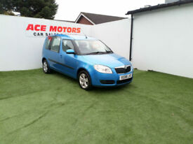 2008 SKODA ROOMSTER 2 1.4 TDI PD 5 DOOR MPV 87000 MILES WITH FULL S/H