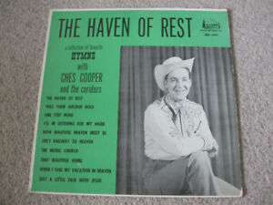 Ches Cooper and the Coridors-Haven Of Rest LP/Vinyl +