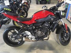 New leftover Yamaha FZ 07
