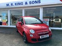Fiat 500 1.2 S Petrol Hatchback RED ( 69bhp ) ( s/s ) 2015MY S