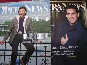OPERA NEWS MONTHLY MAGAZINES 2008-2014 COMPLETE West Island Greater Montréal image 4