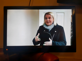 Luxor 21.5 inch tv/dvd