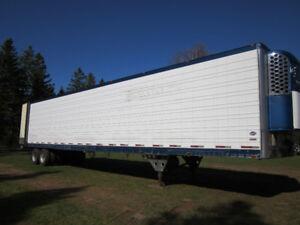 Reefer trailers  Mulit tem Tandem and tridem