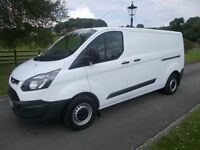 FORD TRANSIT CUSTOM ECONETIC 290 100PS LWB VAN L2H1 15 REG 28,300 MILES