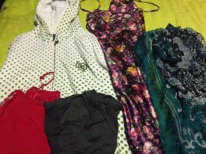 lot of medium clothes