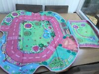 Happyland play mat/storage box