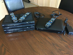 Rogers Netbox 9865HD PVR + 2 linking Netbox 4642HD Receivers