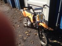 Motox kids pit bike scrambler
