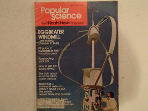 Vintage Popular Science Magazine May 1975 GC