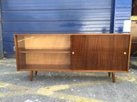 Retro Mid Century Bookcase/ Sideboard by Lebus