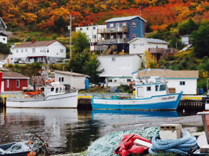 Fishing Village 1 & 2 Bedroom Vacation Rental mins fr St. John's