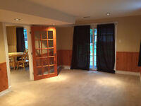 Spacious one bedroom apartment!