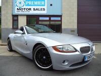 2005 BMW Z4 3.0i SE, SAT NAV, M-SPORT SUSPENSION, FULL LEATHER, PARKING SENSORS