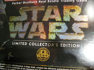 STAR WARS MONOPOLY - LIMITED & CLASSIC EDITIONS -SEALED BOXES Kitchener / Waterloo Kitchener Area image 2