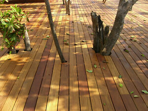 Non maintainance Brazillian Ipe deck floor and Fence
