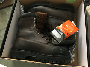 Steel toe boots size 11.