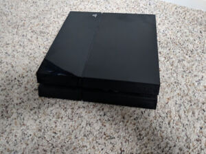 Playstation 4 - 500GB console, controller, and Wireless Headset