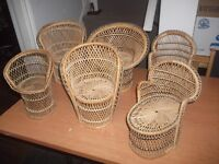 Wicker Chairs for Dolls