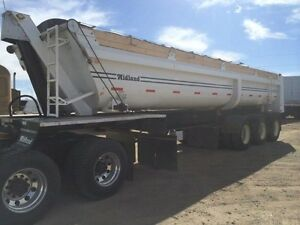 2013 Midland End dump, Used Gravel