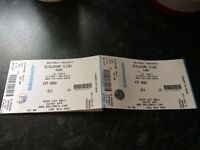 Belsonic tickets x 2. ** VIP area **