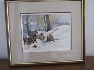 Susan Menzies Framed, Signed & Dated Painting