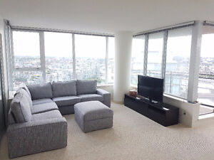 Furnished Master Bedroom in Downtown High Rise
