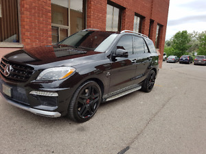 2012 Mercedes-Benz ML 63 AMG SUV