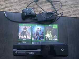 $300 xboxone with 3games