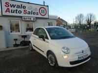 2013 FIAT 500 1.2 POP - 34,010 MILES - FULL SERVICE HISTORY - £30 ROAD TAX