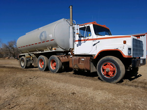 Liquid Fertilizer Tanker truck - water truck