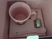 TEA CUP SET FROM CHAPTERS/INDIGO