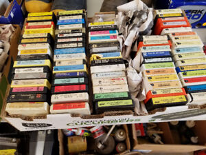 8 track collection  in estevan