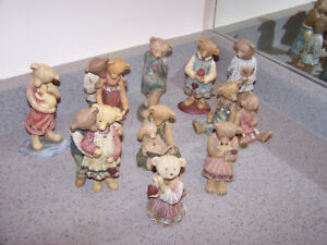 10 BOYDS - LIFE TIMES figurines - amazing collection