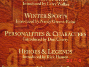 """SPORTS COLLECTOR'S - 6 VHF TAPES -""""100 YEARS OF CANADIAN SPORTS"""" Windsor Region Ontario image 9"""