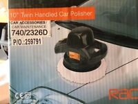 Car polisher - handheld