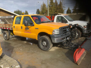 2007 Ford F-350 with plow and salter