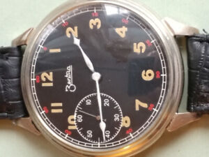 30s zentra pocket watch conversion