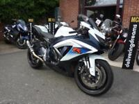 GSX-R750 L0 SPORTS MOTORCYCLE USED WHITE