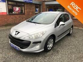 Peugeot 308 1.6 HDi Turbo Diesel ( 90bhp ) 5 Door Hatchback