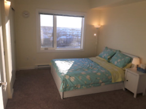 Two bedrooms-Two bathrooms apartment