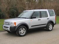 2008 Land Rover Discovery 3 2.7 TD V6 GS Manual 6 Speed 7 Seat Diesel 5 Door 4x4