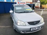 Kia Carens 2.0CRDi auto SE Metallic Silver Cheap to Run/Maintain