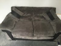 BROWN CORD SOFA BED, COMES IN IMMACULATE CONDITION
