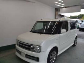 2006 (56) NISSAN CUBE CUBIC Rider Autech 1.5 Automatic 7 Seater MPV Pearl White