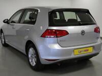 2014 Volkswagen Golf 1.6 TDI 110 BlueMotion 5dr Diesel silver Manual