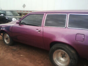 1978 ford pinto wagon does 9 sec 8th mile
