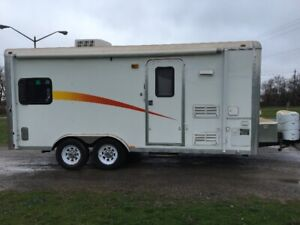 2010 18' Work And Play Toy Hauler trailer