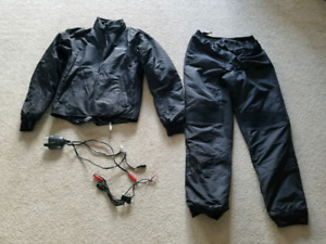 TourMaster heated jacket liner and heated pants.