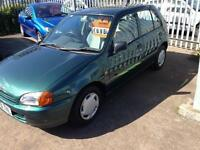 Toyota Starlet 1.3 auto CD SERVICE HISTORY AUTOMATIC FULL MOT NOW!!