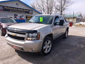 2007 chevy avalanche 4x4 cert etested pattersonauto.ca.